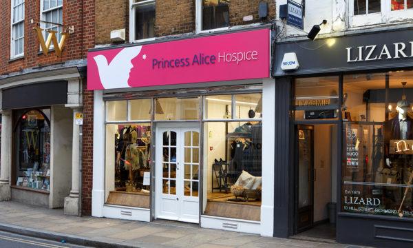 Donate goods - Princess Alice Hospice