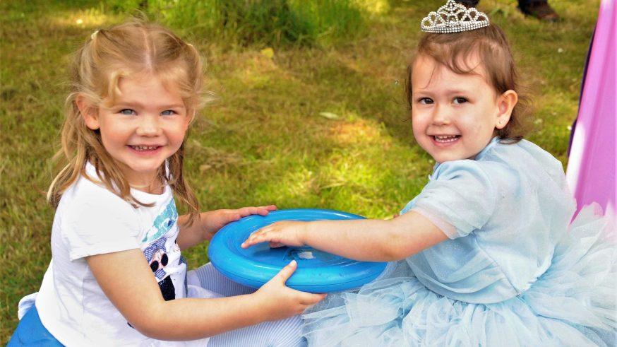 2 children at the summer fete