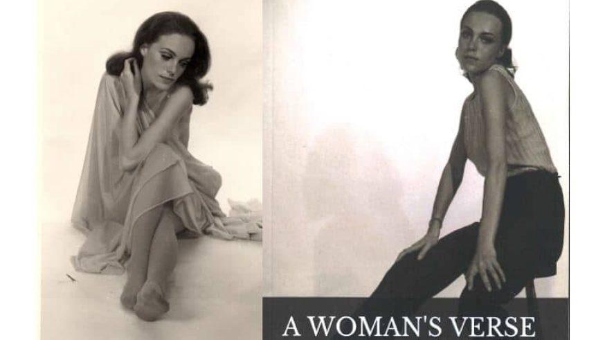 Glamorous photos promoting 'A Woman's Verse'