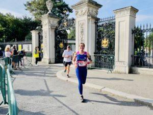 Runner in PAH vest