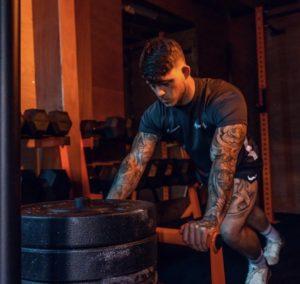 Mason Chisholm in gym gear